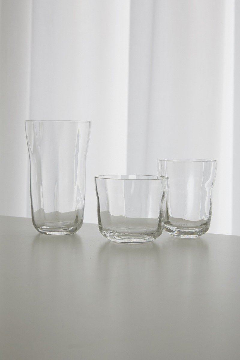 Crystal glasses also in Mix & Match