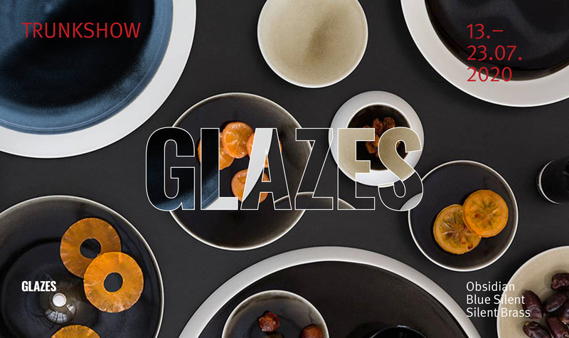 DESIGNINNOVATION online exclusive: Glazes by Stefanie Hering Trunk Show, July 13 to July 23, 2020