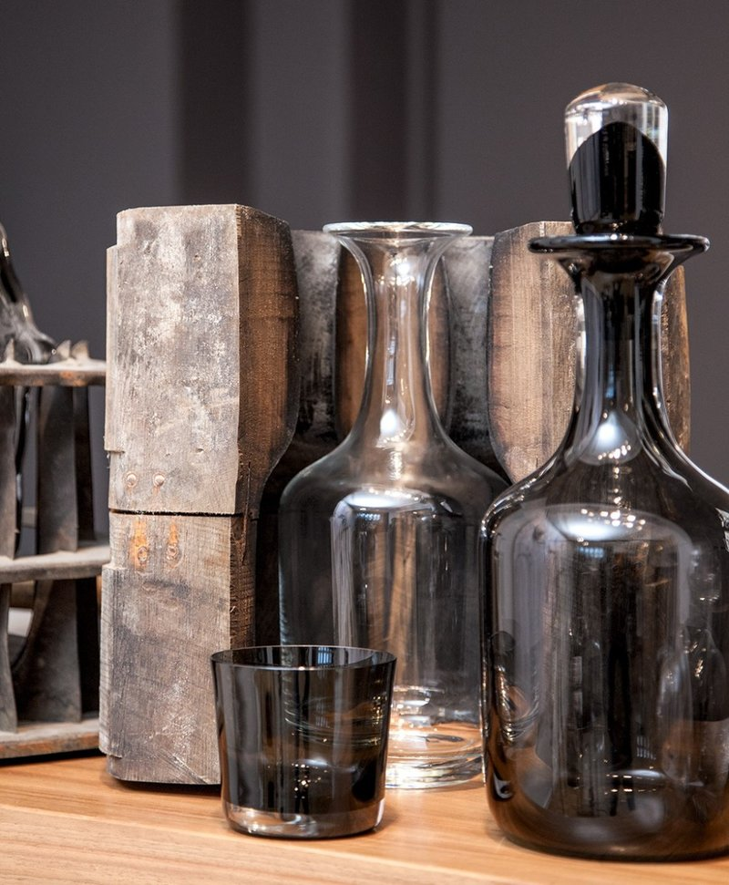 Also handmade: the Hering Berlin glass series